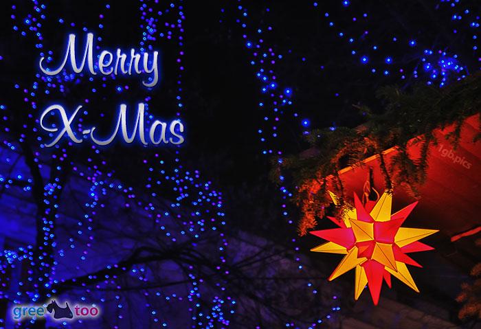 Stern Lichter Merry X Mas Bild - 1gb.pics