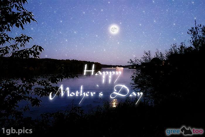 Mond Fluss Happy Mothers Day Bild - 1gb.pics