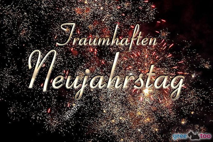 Traumhaften Neujahrstag