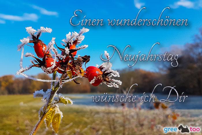 Einen Wunderschoenen Neujahrstag Bild - 1gb.pics