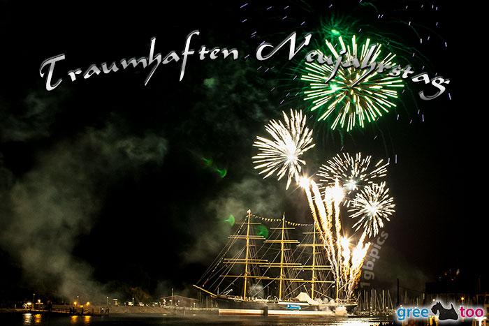 Traumhaften Neujahrstag Bild - 1gb.pics