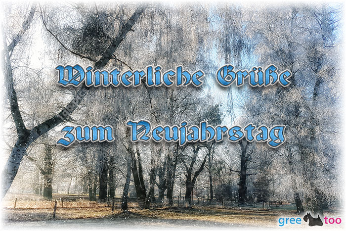 Zum Neujahrstag Bild - 1gb.pics