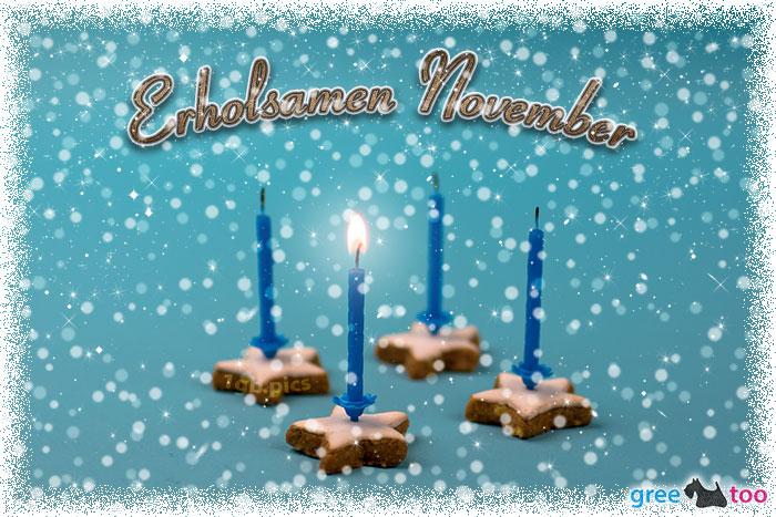 Erholsamen November Bild - 1gb.pics