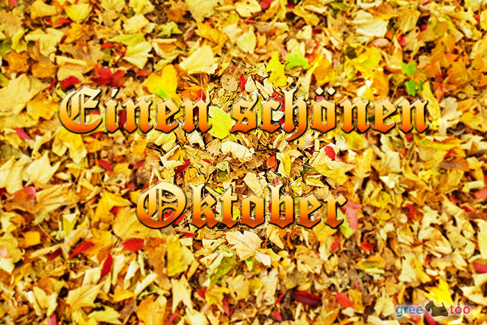 Einen Schoenen Oktober Bild - 1gb.pics