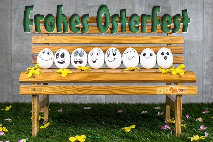 Frohes Osterfest Bild - 1gb.pics