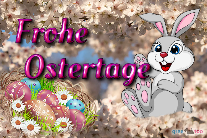 Frohe Ostertage Bild - 1gb.pics