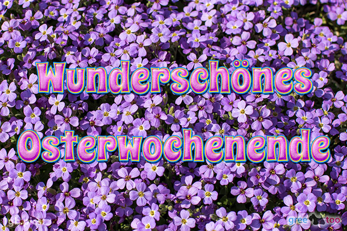 Wunderschoenes Osterwochenende Bild - 1gb.pics