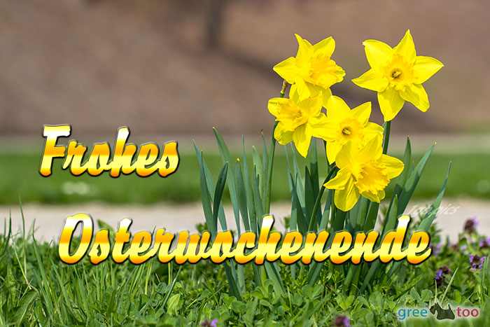Frohes Osterwochenende Bild - 1gb.pics