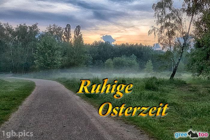 Nebel Ruhige Osterzeit Bild - 1gb.pics
