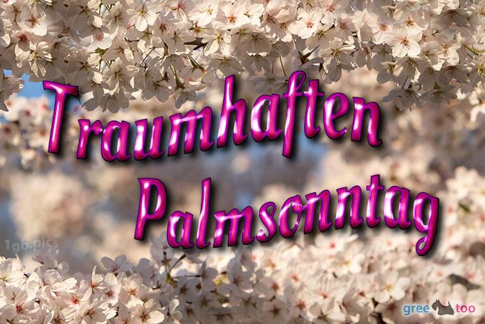 Traumhaften Palmsonntag Bild - 1gb.pics