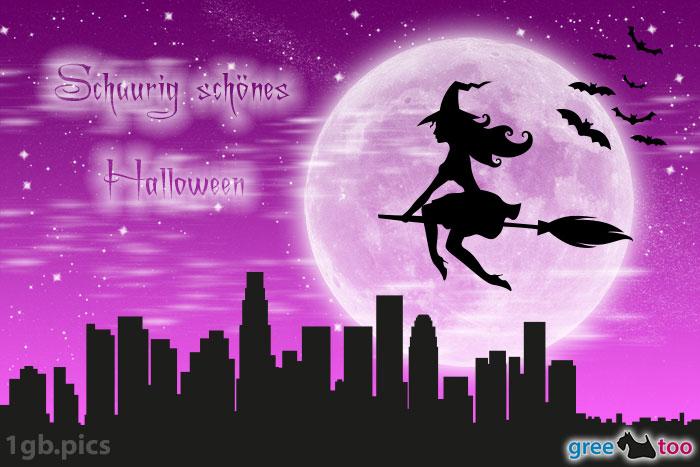 Hexe Schaurig Schoenes Halloween Bild - 1gb.pics