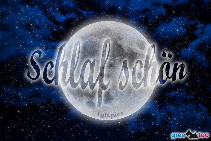 Wolken Mond Schlaf Schoen Bild - 1gb.pics