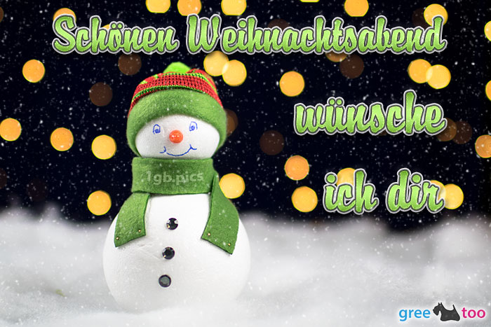 Schoenen Weihnachtsabend Bild - 1gb.pics