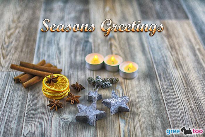 Advents Teelicht 3 Seasons Greetings Bild - 1gb.pics