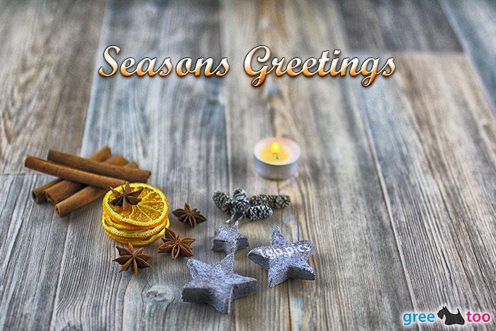 Advents Teelicht 1 Seasons Greetings Bild - 1gb.pics