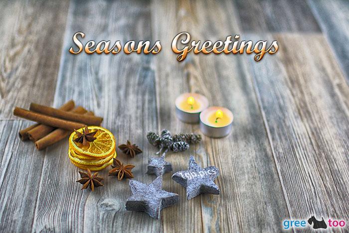 Advents Teelicht 2 Seasons Greetings Bild - 1gb.pics