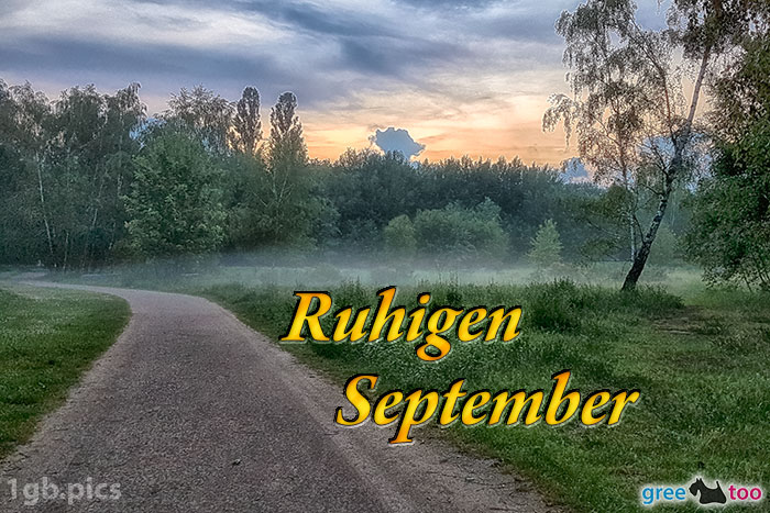 Nebel Ruhigen September Bild - 1gb.pics