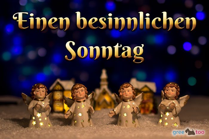 Besinnlichen Sonntag Bild - 1gb.pics