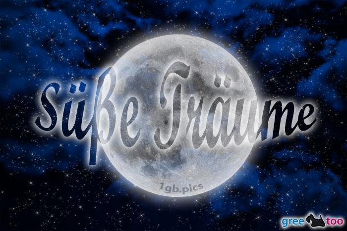 Wolken Mond Suesse Traeume Bild - 1gb.pics