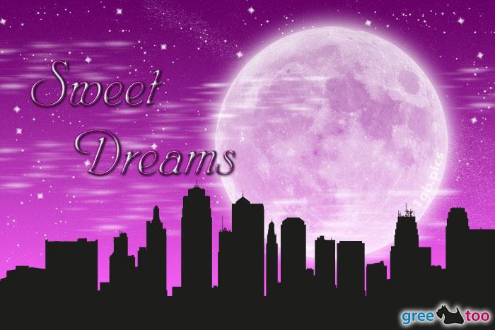 Mond Stadt Sweet Dreams Bild - 1gb.pics