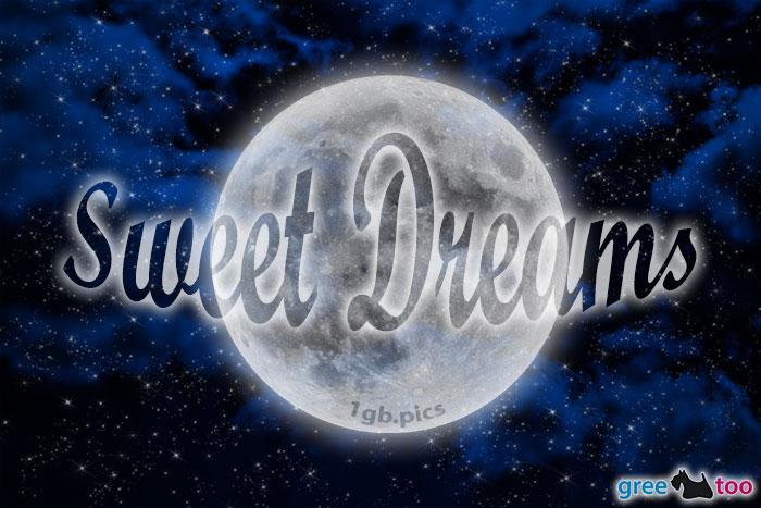 Wolken Mond Sweet Dreams Bild - 1gb.pics