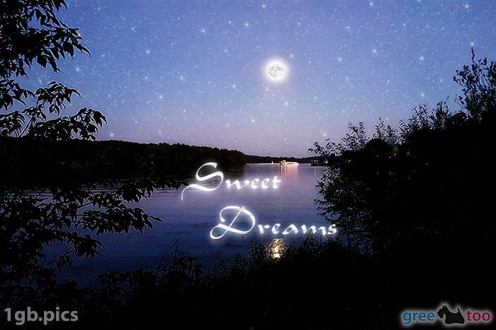 Mond Fluss Sweet Dreams Bild - 1gb.pics