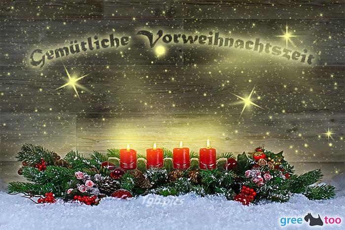 Gemuetliche Vorweihnachtszeit Bild - 1gb.pics