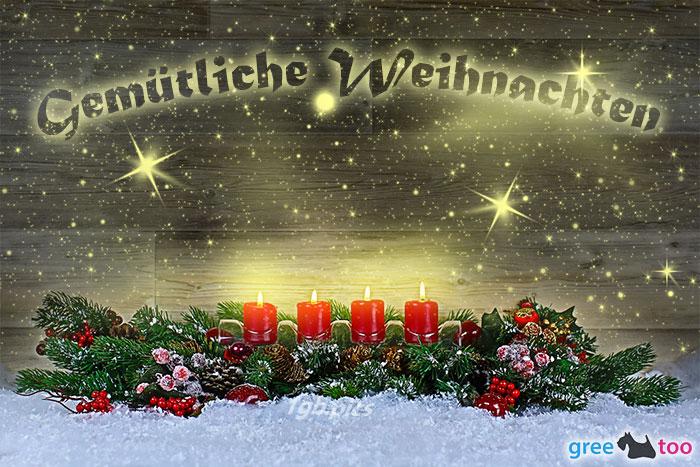 Gemuetliche Weihnachten Bild - 1gb.pics