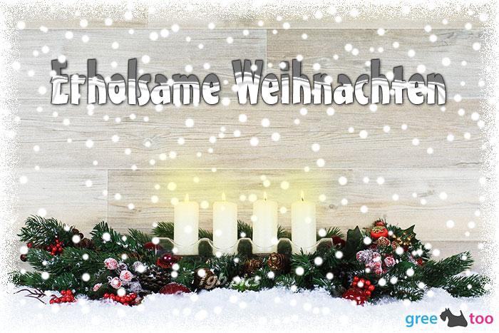 Erholsame Weihnachten Bild - 1gb.pics