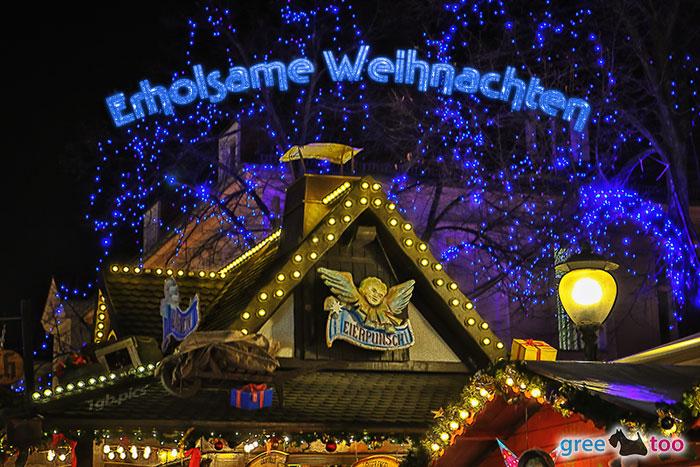 Weihnachtsmarkt Erholsame Weihnachten Bild - 1gb.pics