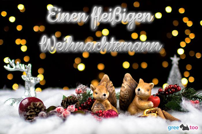 Fleissigen Weihnachtsmann Bild - 1gb.pics