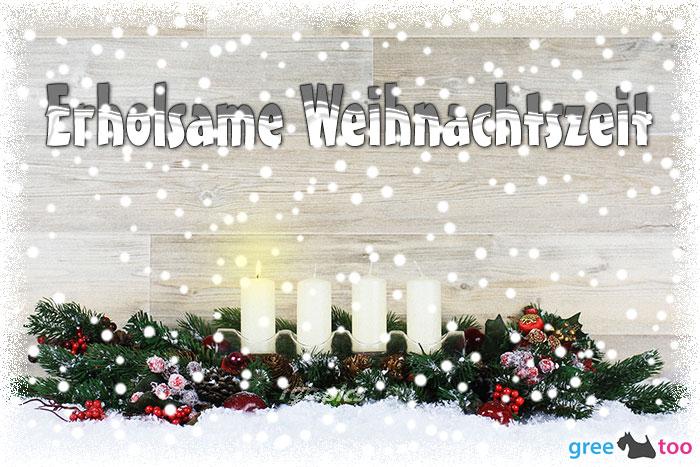 Erholsame Weihnachtszeit Bild - 1gb.pics