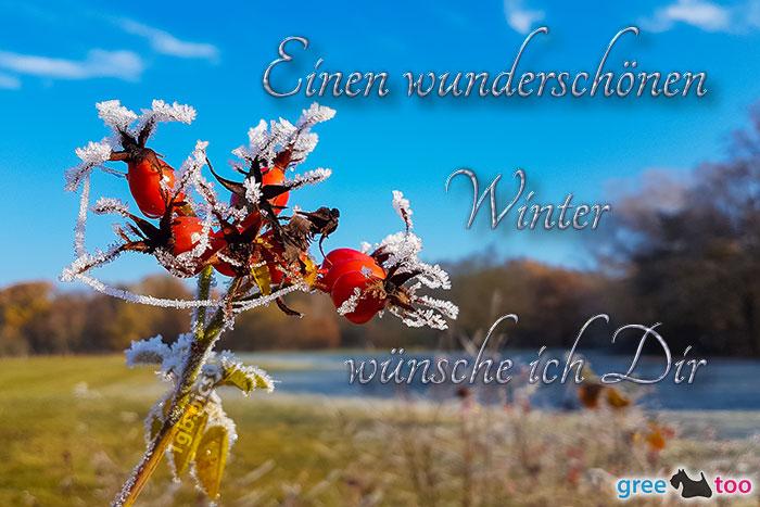 Einen Wunderschoenen Winter Bild - 1gb.pics