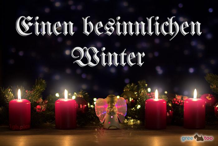 Besinnlichen Winter Bild - 1gb.pics