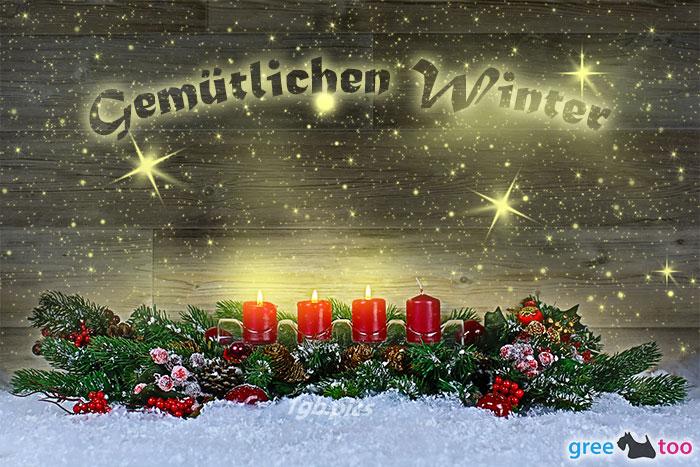 Gemuetlichen Winter Bild - 1gb.pics