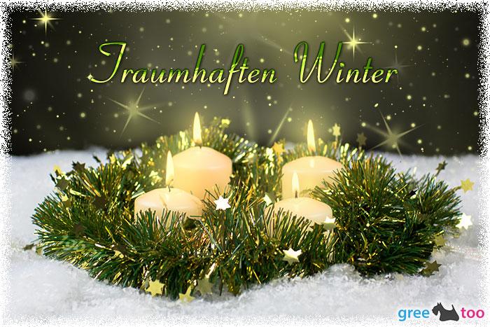 Traumhaften Winter Bild - 1gb.pics
