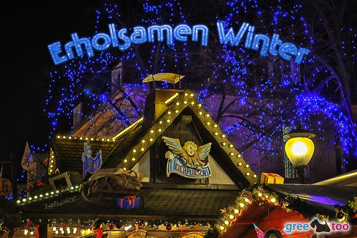 Weihnachtsmarkt Erholsamen Winter Bild - 1gb.pics