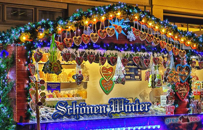 Weihnachtsmarktbude Schoenen Winter Bild - 1gb.pics