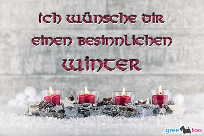 Adventskerzen 4 Besinnlichen Winter Bild - 1gb.pics