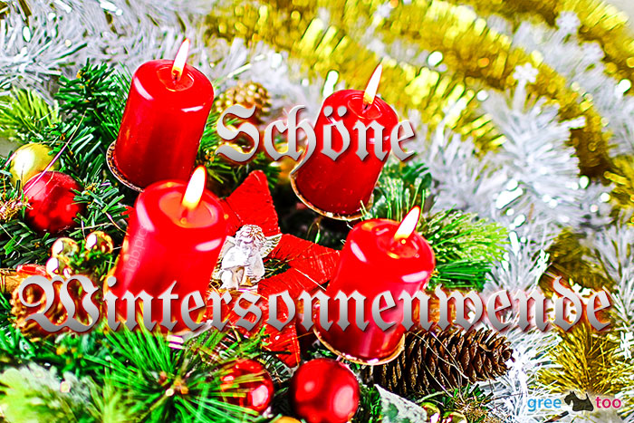 Schoene Wintersonnenwende Bild - 1gb.pics