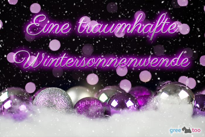 Traumhafte Wintersonnenwende Bild - 1gb.pics