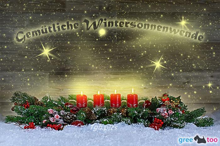 Gemuetliche Wintersonnenwende Bild - 1gb.pics