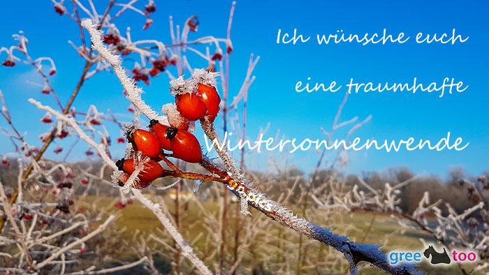 Eine Traumhafte Wintersonnenwende Bild - 1gb.pics