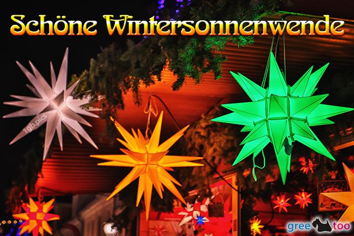 Weihnachtssterne Schoene Wintersonnenwende Bild - 1gb.pics