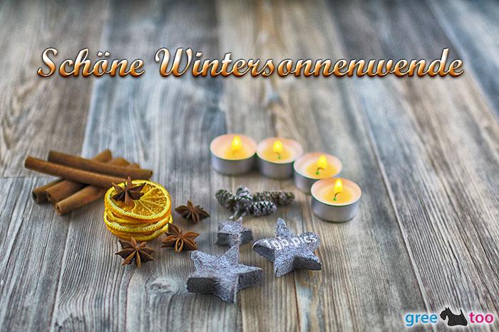 Advents Teelicht 4 Schoene Wintersonnenwende Bild - 1gb.pics