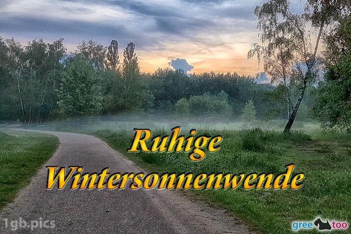 Nebel Ruhige Wintersonnenwende Bild - 1gb.pics