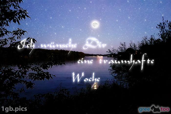 Mond Fluss Eine Traumhafte Woche Bild - 1gb.pics