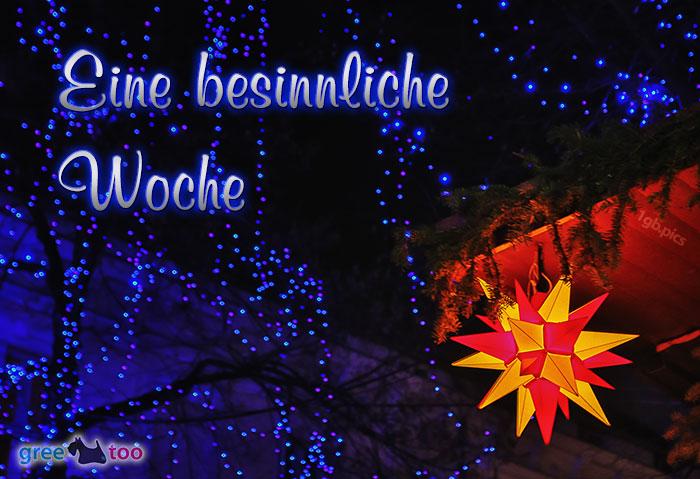 Stern Lichter Besinnliche Woche Bild - 1gb.pics