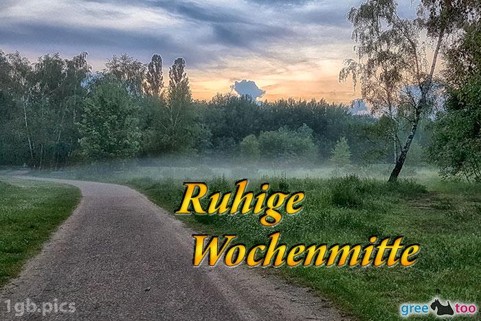 Nebel Ruhige Wochenmitte Bild - 1gb.pics