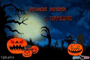 1. November Bilder